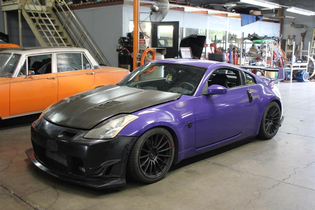 Daniel S Single Turbo 2004 Nissan 350z Projectimport Com